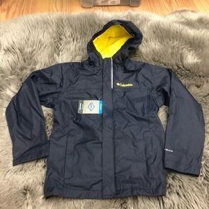 Columbia Watertight Jacket: Navy (PM1649)